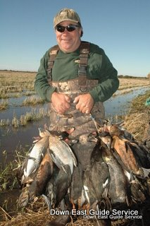 Duck and dove hunting in Argentina